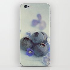Blueberry Smile iPhone & iPod Skin