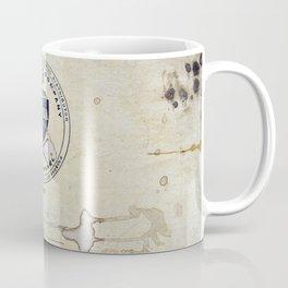 Vintage Canvas Back Coffee Mug