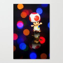 Dancing toad Canvas Print
