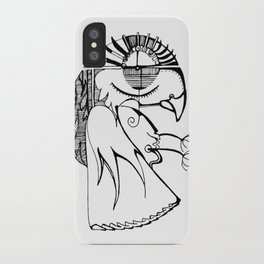A kind of parrot iPhone Case