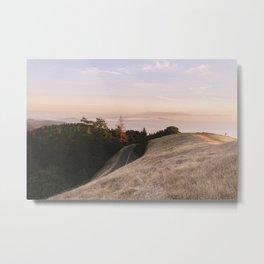 Mt. Tamalpais Sunset Metal Print
