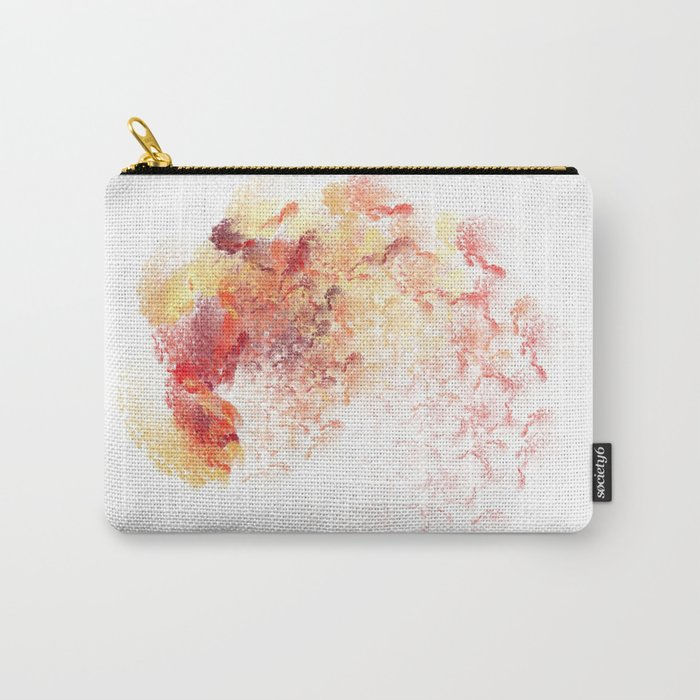 fine Coloured  (A7 B0195) Carry-All Pouch