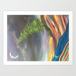 """Trip Trail"" Art Print"