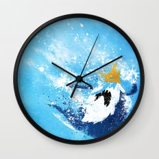 Why did you eat my fries? Wall Clock