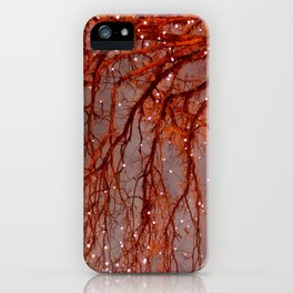 Magical In Red iPhone Case