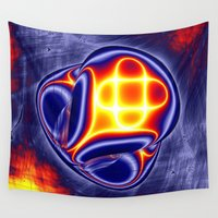 ufo Wall Tapestries featuring ufo by donphil
