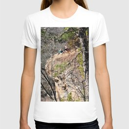 Climbing Up Sparrowhawk Mountain above the Illinois River, No. 4 of 8 T-shirt