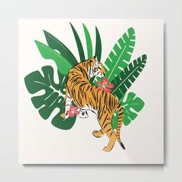 Tiger 010 Metal Print