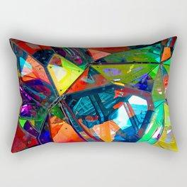 Jagged Little Morning Rectangular Pillow