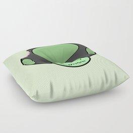 Zombie Toad Floor Pillow