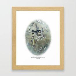 Behind You 38 Framed Art Print