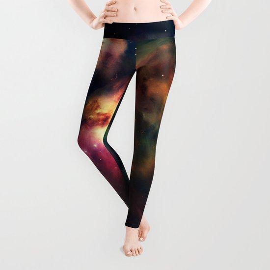 Orion NEbula Dark & Colorful Leggings
