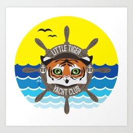 Little Tiger Yacht Club Art Print