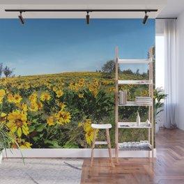 wildflower season Wall Mural