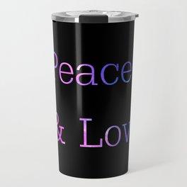 Peace & Love Travel Mug