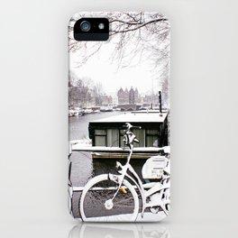 AMSTERDAM / Snow iPhone Case