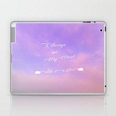 Always on my Mind Laptop & iPad Skin