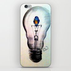 Sparks Fly iPhone & iPod Skin