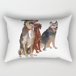 watercolor dog vol2 Pointer, Coonhound, Alaskan Rectangular Pillow