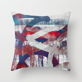 i will reach out Throw Pillow