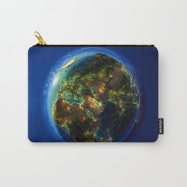 Global Lines Carry-All Pouch