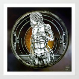 """Astrological Mechanism - Virgo"" Art Print"