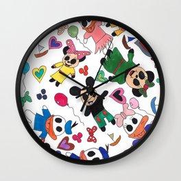 Meep meets magic Wall Clock