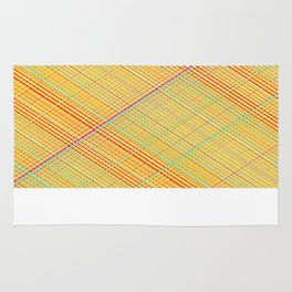 Re-Created  Grid 2 by Robert S. Lee Rug