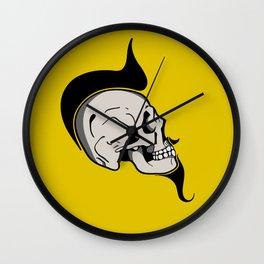 SKULL PUNK Wall Clock