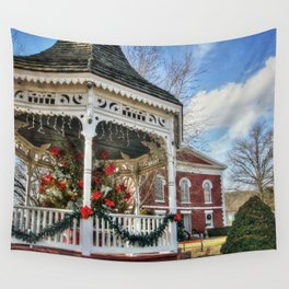 Iron County Courthouse and Gazebo Wall Tapestry