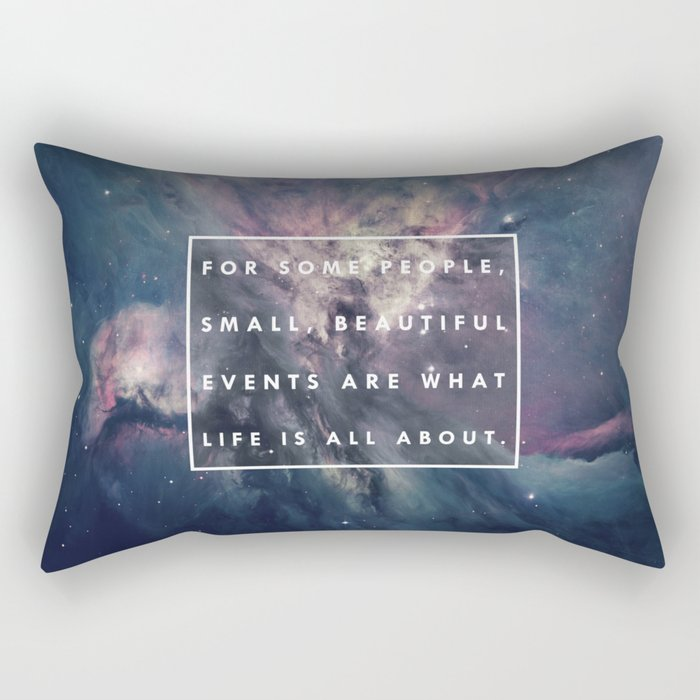 What Life Is All About - Doctor Who Rectangular Pillow