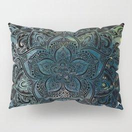 Flower mandala -night Pillow Sham