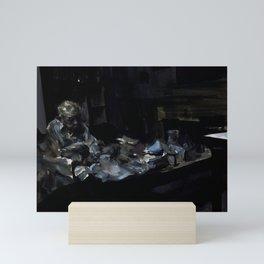 Grandfather Seated Mini Art Print