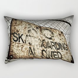 Disallowed Rectangular Pillow