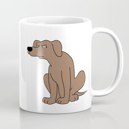 Suspicious dog Coffee Mug