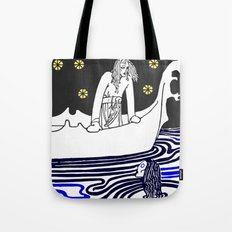 Warrior of the north Tote Bag