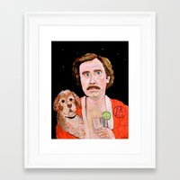 "classy Framed Art Prints featuring ""Stay Classy"" by Jordan Soliz"
