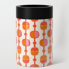 Mid Century Retro Dots Can Cooler