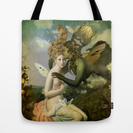 """The body, the soul and the garden of love"" Tote Bag"