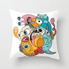 1980 Throw Pillow