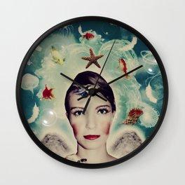 Angel of Sea Wall Clock