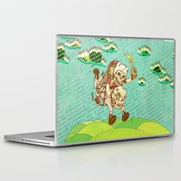 anarchy Laptop & iPad Skins featuring Anarchy Time by Beery Method