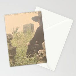 Catacomb Culture - Graveyard Witch Stationery Cards