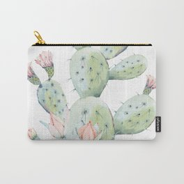Cactus 3 White #society6 #buyart Carry-All Pouch