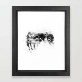 Warpaint Eyes Framed Art Print