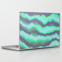 northern lights Laptop & iPad Skins featuring Northern Lights by paulusjart