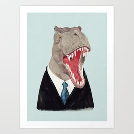 T. Rex - All Business Art Print