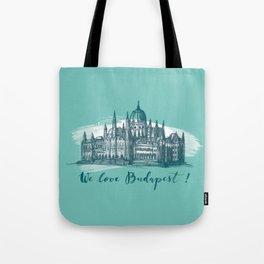 Budapest No. 4. Tote Bag