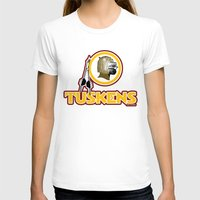 washington T-shirts featuring Washington Tuskens by Ant Atomic