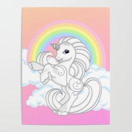 g2 my little pony Princess Silver Swirl Poster